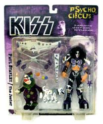 KISS Psycho Circus: Paul Stanley & The Jester figures (McFarlane/1998)