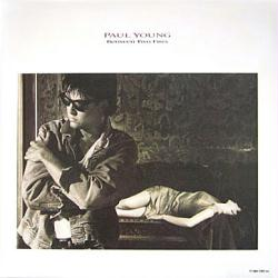 Paul Young poster: Between Two Fires vintage LP/Album flat (1986)