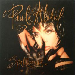 Paula Abdul poster: Spellbound vintage LP/Album flat (1991)