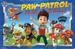 PAW Patrol poster: PAW Patrol is on a Roll! (34x22) Nickelodeon