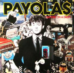 Payolas poster: Hammer on a Drum vintage LP/Album flat (1983)