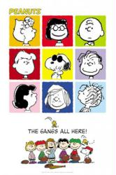 Peanuts poster: The Gang's All Here (27x40) Snoopy