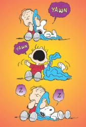 Peanuts poster: Linus & Snoopy (27x40) New
