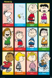 "Peanuts poster: Snoopy and Friends (27"" X 40"") New"