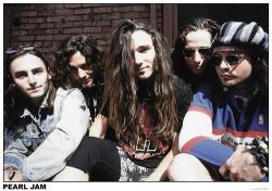 """Pearl Jam poster (33"""" X 23 1/2"""") U.K. Import"""