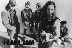 Pearl Jam poster: Black-and-White (36x24) New