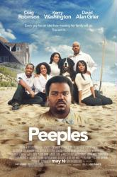 Peeples movie poster [Craig Robinson/Kerry Washington] 27x40 NM