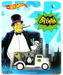 Hot Wheels: Batman Classic TV Series Penguin die-cast '49 Ford COE