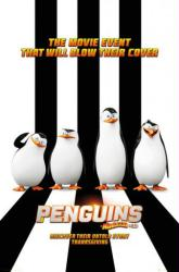 Penguins of Madagascar movie poster (24x36) 2014 Animated film