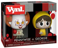 "It: Pennywise + Georgie 4.5"" Vynl figures (Funko)"