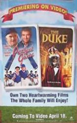 Perfect Game/The Duke movie poster (26x40 Disney video poster) NM