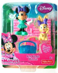 Minnie: Pet Picnic Minnie Mouse figure set (Fisher Price) Disney