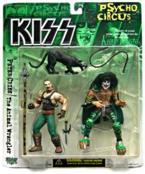KISS Psycho Circus: Peter Criss & Animal Wrangler figures (McFarlane)