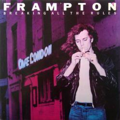 Peter Frampton poster: Breaking All the Rules album flat (1981)