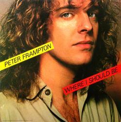 Peter Frampton poster: Where I Should Be vintage LP/Album flat (1979)