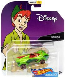 Hot Wheels Character Cars: Disney Peter Pan die-cast vehicle