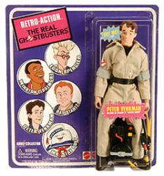 Retro Action The Real Ghostbusters: Peter Venkman figure (Mattel) SDCC