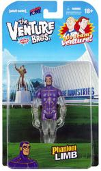 The Venture Bros: Phantom Limb action figure (Bif Bang Pow/2013)