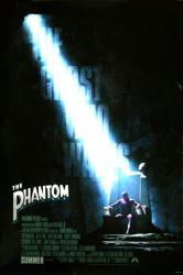 The Phantom movie poster (1996) original 27 X 40