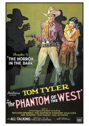 The Phantom of the West Chapter 3 movie poster [Tom Tyler] 18'' X 24''
