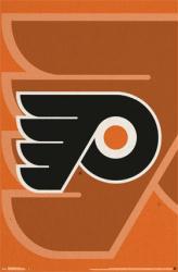 Philadelphia Flyers poster: Logo (NHL) 22x34