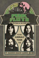 Pink Floyd poster: Animals Tour '77 (24x36) Madison Square Garden