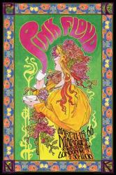 Pink Floyd poster: Marquee concert, London 1966 (24x36) Bob Masse