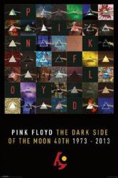 Pink Floyd poster: Dark Side of the Moon 40th 1973-2013 (24'' X 36'')