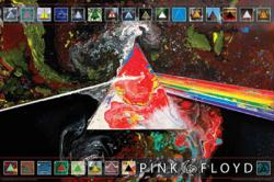 Pink Floyd poster: Dark Side of the Moon 40th Anniversary (36 X 24)