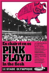 Pink Floyd poster: In the Flesh Tour concert poster (24'' X 36'')