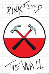Pink Floyd poster: The Wall (24x36) Hammers logo