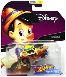 Hot Wheels Character Cars: Disney Pinocchio die-cast vehicle