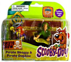 Scooby-Doo Pirate Crew: Pirate Shaggy & Pirate Daphne figures