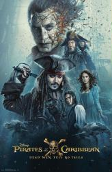 Pirates of the Caribbean: Dead Men Tell No Tales movie poster (22x34)