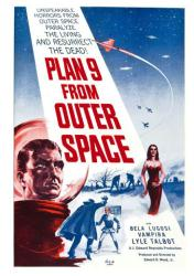 Plan 9 From Outer Space movie poster [an Ed Wood film] 18x24