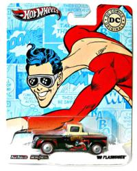 Hot Wheels Nostalgic: DC Comics Plastic Man '56 Flashsider diecast