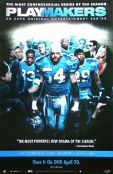 Playmakers poster: 2003 ESPN TV Series (26x40)