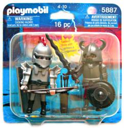 Playmobil: Knights 16 pc action figure set #5887 (2009)