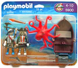 Playmobil: Pirates with Octopus 15 pc action figure set #5900 (2009)