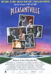 Pleasantville movie poster [Tobey Maguire & Reese Witherspoon] video