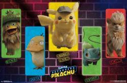 Pokemon: Detective Pikachu poster: Group (34x22)