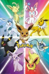 Pokemon poster: Eevee Evolution (24x36) New