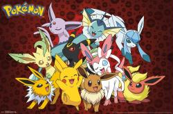 Pokemon poster: Favorites (34x22) New