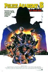 Police Academy 6: City Under Siege movie poster (1989) original 27x40