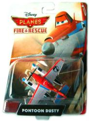 Planes Fire & Rescue: Pontoon Dusty 1:55 diecast plane (Mattel) Disney