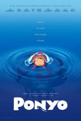 Ponyo movie poster (2008) a Hayao Miyazaki film