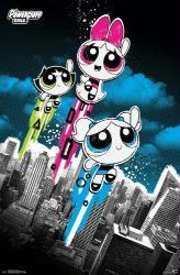 The Powerpuff Girls poster: Flight (22x34) Cartoon Network