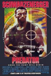 Predator movie poster (1987) [Arnold Schwarzenegger] 24x36