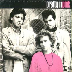 Pretty In Pink soundtrack poster: Vintage LP/Album flat