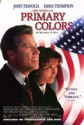 Primary Colors movie poster [John Travolta & Emma Thompson] video